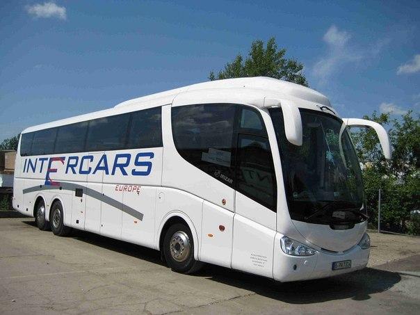 Intercars Europe — регулярные автобусные рейсы в Европу